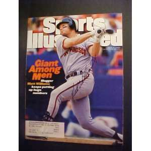 Matt Williams San Francisco Giants Autographed June 5, 1995 Sports