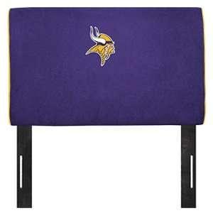 Minnesota Vikings NFL Team Logo Headboard