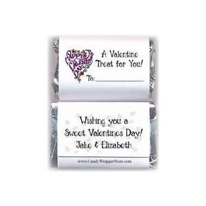 VAL104   Mini Valentines Day Sweet Treat Candy Wrappers