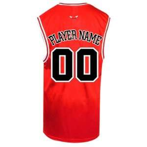f8a91d9ac15 DRAFT PLAYER NAME Chicago Bulls Replica NBA Jersey on PopScreen