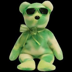 TY Beanie Baby   LIME ICE the Bear (Summer Gift Show Exclusive)  Toys