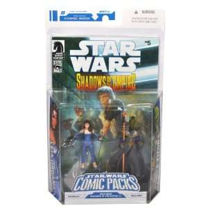 Staff Plus Bonus Comic Book Shadows of the Empire #5 Toys & Games