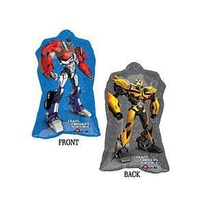 Transformers Bumble Bee & Optimus Prime 30 2 Sided Mylar