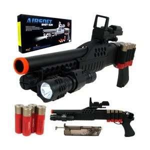 AIRSOFT M180A2 Pump Action Shot Gun w/ Scope and Light