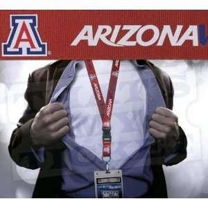 Arizona Wildcats NCAA Lanyard Key Chain and Ticket Holder Sports
