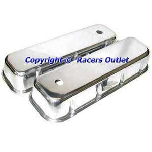 Aluminum Valve Covers bb Chevy 396 402 427 454 Chevrolet bbc Big Block
