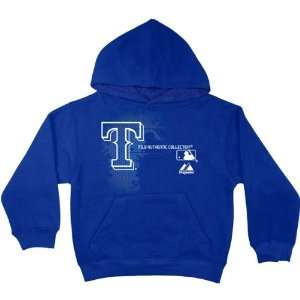 Texas Rangers Toddler Royal Blue AC MLB Change Up Hooded Fleece