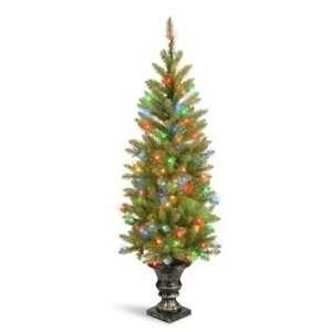 Fir Entrance Christmas Tree; 150 Multi Lights UL