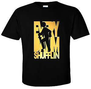 NEW Everyday Im Shufflin T Shirt Party Rock Gold Logo Tee sizes S 5X