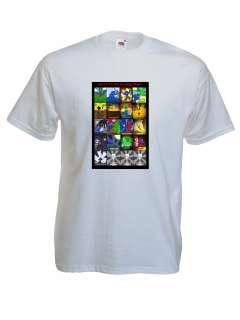Ways to die in Minecraft T Shirts 3 years to XL