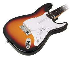 Fender Stratocaster Rock Band 2 XBOX 360 Wood NEW