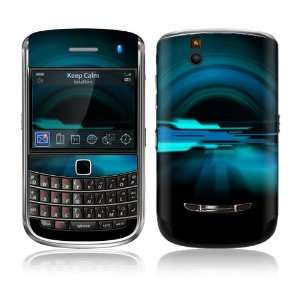 Abstract Future Night Blue Design Protective Skin Decal Sticker for