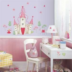 Girls Princess Castle Wall Decals Stickers Decor Mural