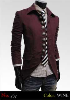 Mens Casual Slim Fitted Style Jacket Blazer Coat BEST Collection
