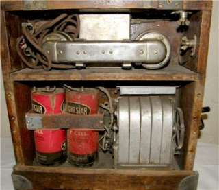 1903 WWI WESTERN ELECTRIC FIELD TELEPHONE HAND CRANK MAGNETO