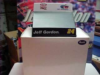 NEW JEFF GORDON 1997 DAYTONA 500 CHAMPION TRACK BANK