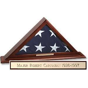 Fathers Day Gifts Personalized Flag Display Case
