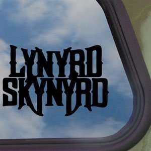 Skynyrd Black Decal Southern Rock Band Car Sticker