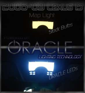 Lexus IS250 IS ORACLE LED Bulbs Interior Map Dome Light
