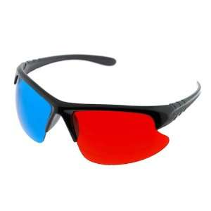 GTMax 3D Red/Cyan Glasses for watching 3D Movies and