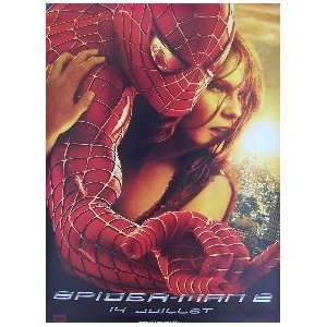 SPIDER MAN 2   ADVANCE STYLE B (FRENCH ROLLED) Movie