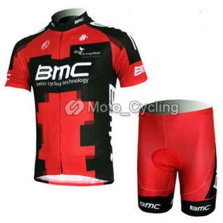 2012 Red Cycling Bicycle Bike Comfortable Outdoor Sport Jersey