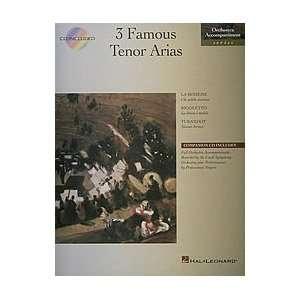3 Famous Tenor Arias (0073999694406) Books