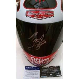 Tony Stewart Signed Simpson Full Size Racing Helmet