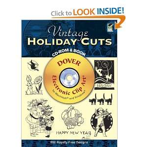 Vintage Holiday Cuts CD ROM and Book (Dover Electronic Clip Art