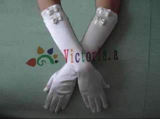 New 4 style Sexy White/Ivory Bridal Wedding Party Fingerless Beaded