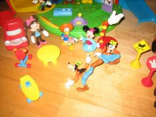 DISNEY MICKEY MOUSE CLUBHOUSE PLAYSETS CHARACTERS ACCESSORIES