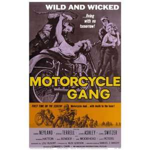 Motorcycle Gang Movie Poster: Home & Kitchen