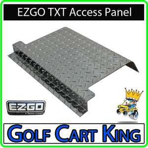 NEW EZGO TXT Golf Cart Diamond Plate Access Panel
