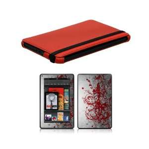 Bundle Monster Kindle Fire Combo Set with Snap On Cover Case, Vinyl