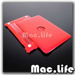METALLIC RED Hard Case Cover for Macbook Air 11 A1370