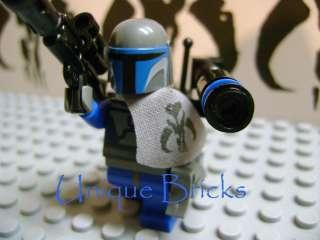M01   Custom Lego Star Wars 7914 Mandalorian Bantha Jango Bobba Fett