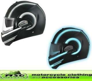 SHARK EVOLINE S3 ST MOTORCYCLE HELMET MOOVIT XL MATT BLACK LUMI KLU