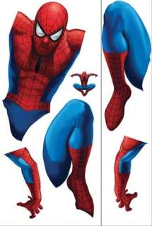 New Giant AMAZING SPIDERMAN WALL DECAL Spider Man Stickers Boys