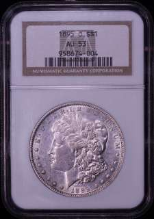 AU53 ★ HIGH GRADE ORIGINAL KEY DATE ★ MORGAN Silver Dollar