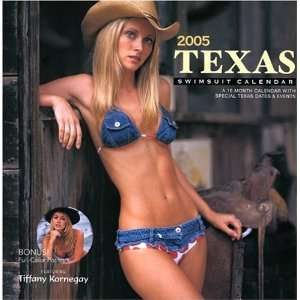 2005 Texas Swimsuit Calendar (9781887364201): Books