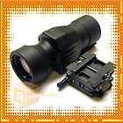 UTAC® 1.5x 5x Magnifier For Red Dot Sight with Mount Ring