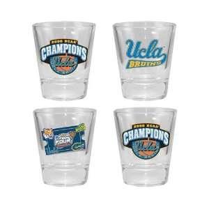 UCLA Bruins 2006 National Champions 4 Pack Shot Glass Set Sports