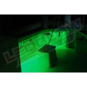2pc Green LED Boat Deck & Cabin Lighting Kit: Sports & Outdoors
