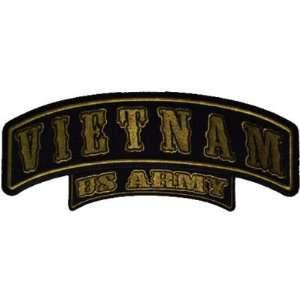 US ARMY Rocker Embroidered Biker Vest Patch!!!!: Everything Else
