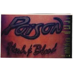 Blood Tattoo Album Print Ad (Music Memorabilia) (4736): Home & Kitchen