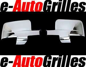 09 10 11 12 Dodge RAM 1500 2500 3500 Chrome Mirror Cover with turn