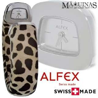 RELOJ BRAZALETE ALFEX SWISS MADE 5553/199 D.G PVP235€