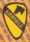 1st Air Cavalry Division AIRMOBILE Aviation patch