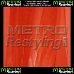 RED CHROME VINYL Roll Sheet Adhesive Sticker Decal