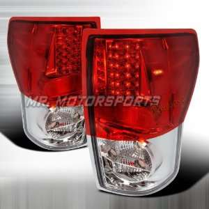 TOYOTA TUNDRA L.E.D TAIL LIGHTS RED Automotive